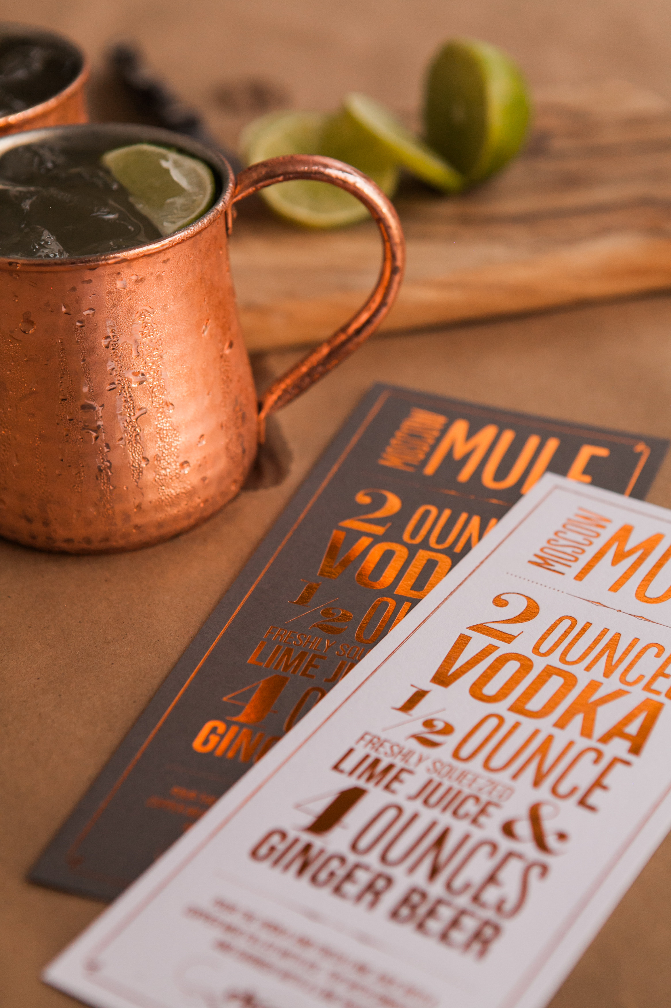 Copper Foil Moscow Mule Print