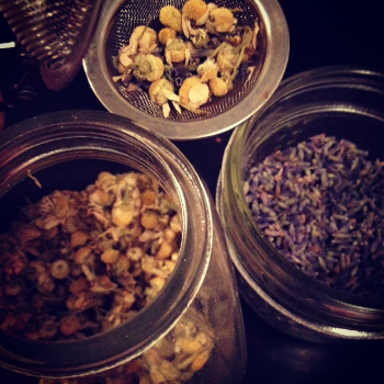 Mix your herbs together and put in a tea bag, tea sieve or a french press. Pour hot water on top and let steep for 10 minutes. Floral teas are uplifting, comforting, soothing and delicious. Enjoy them often <3