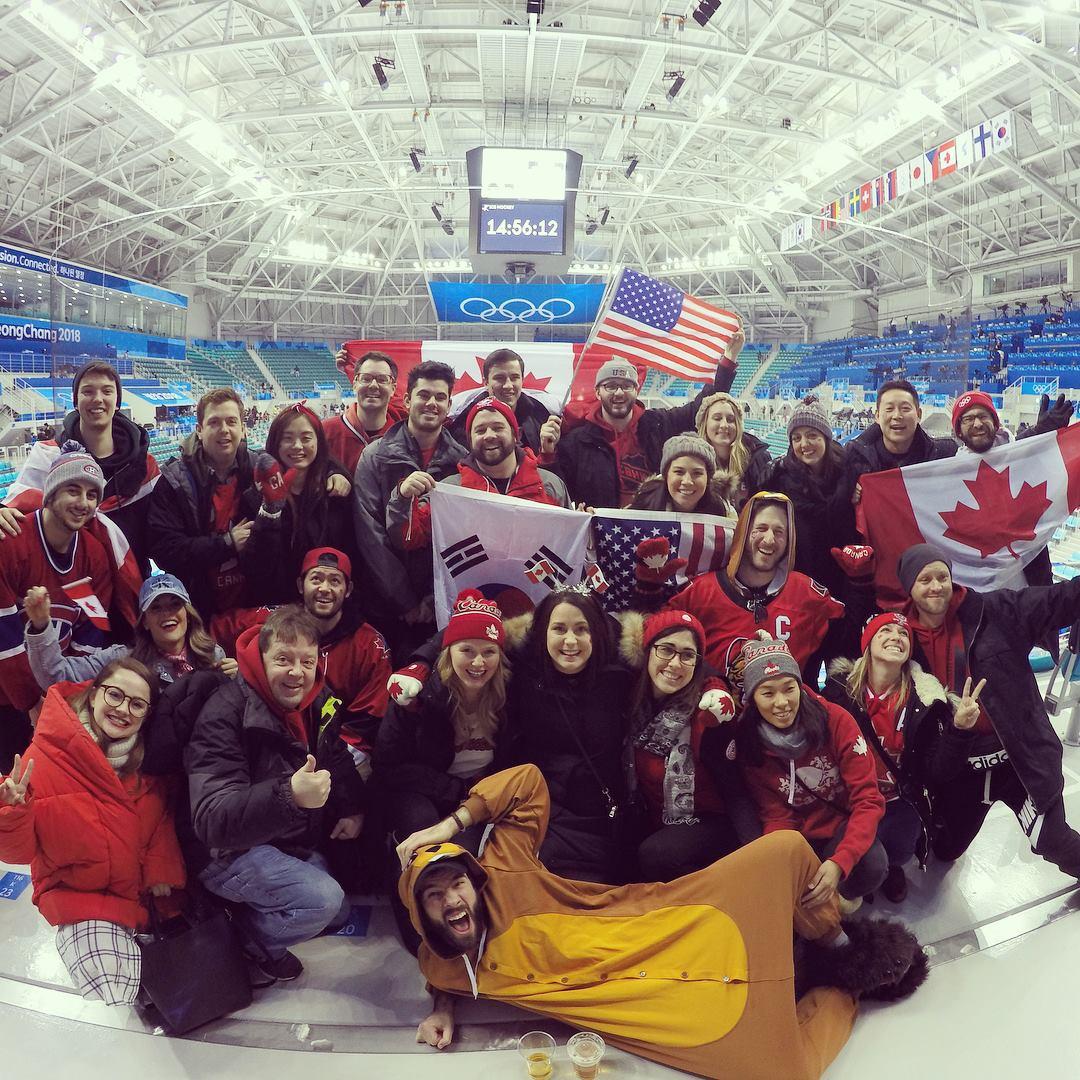 Olympics in Pyeonchang!
