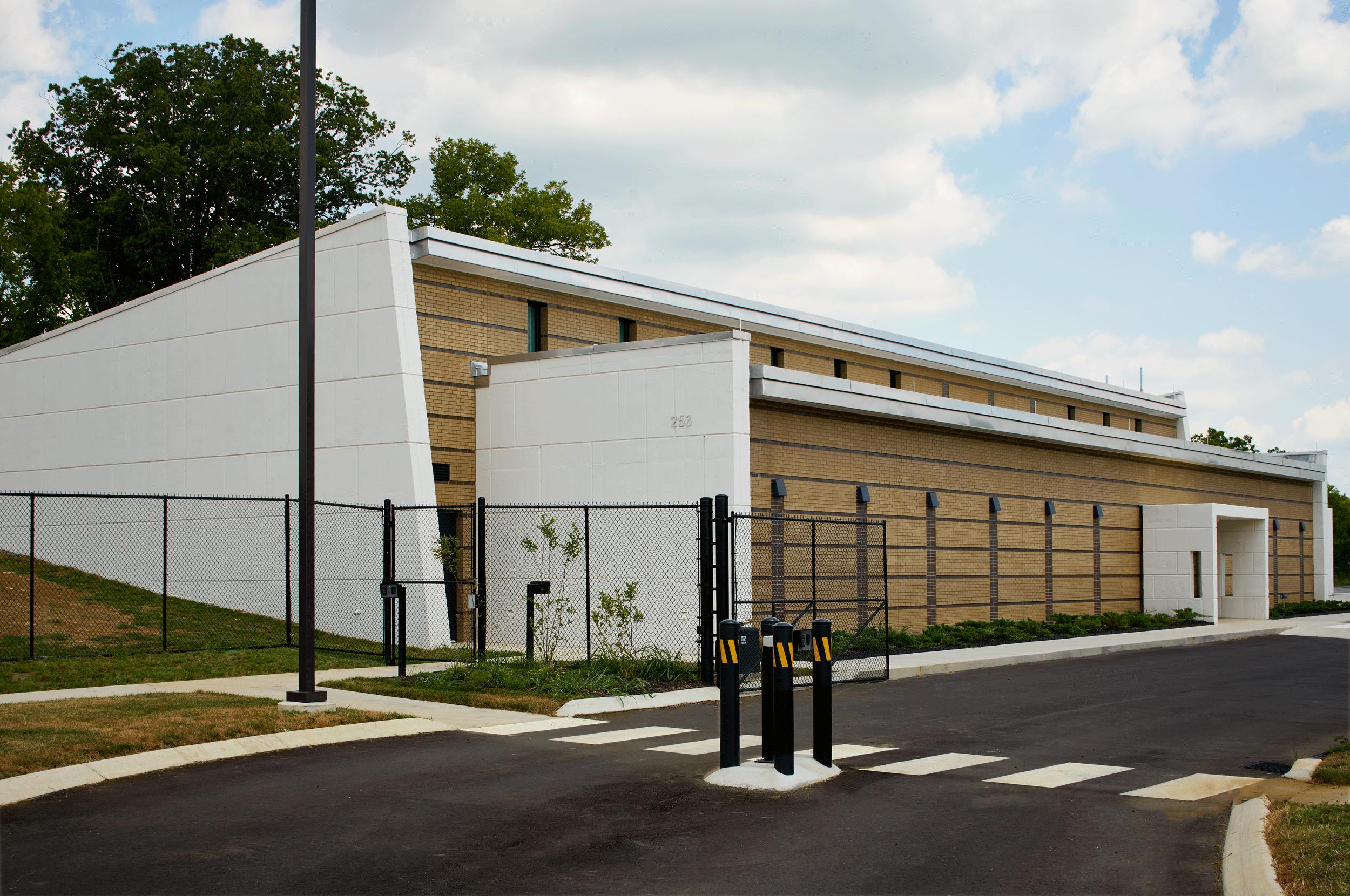 gate entrance exterior view