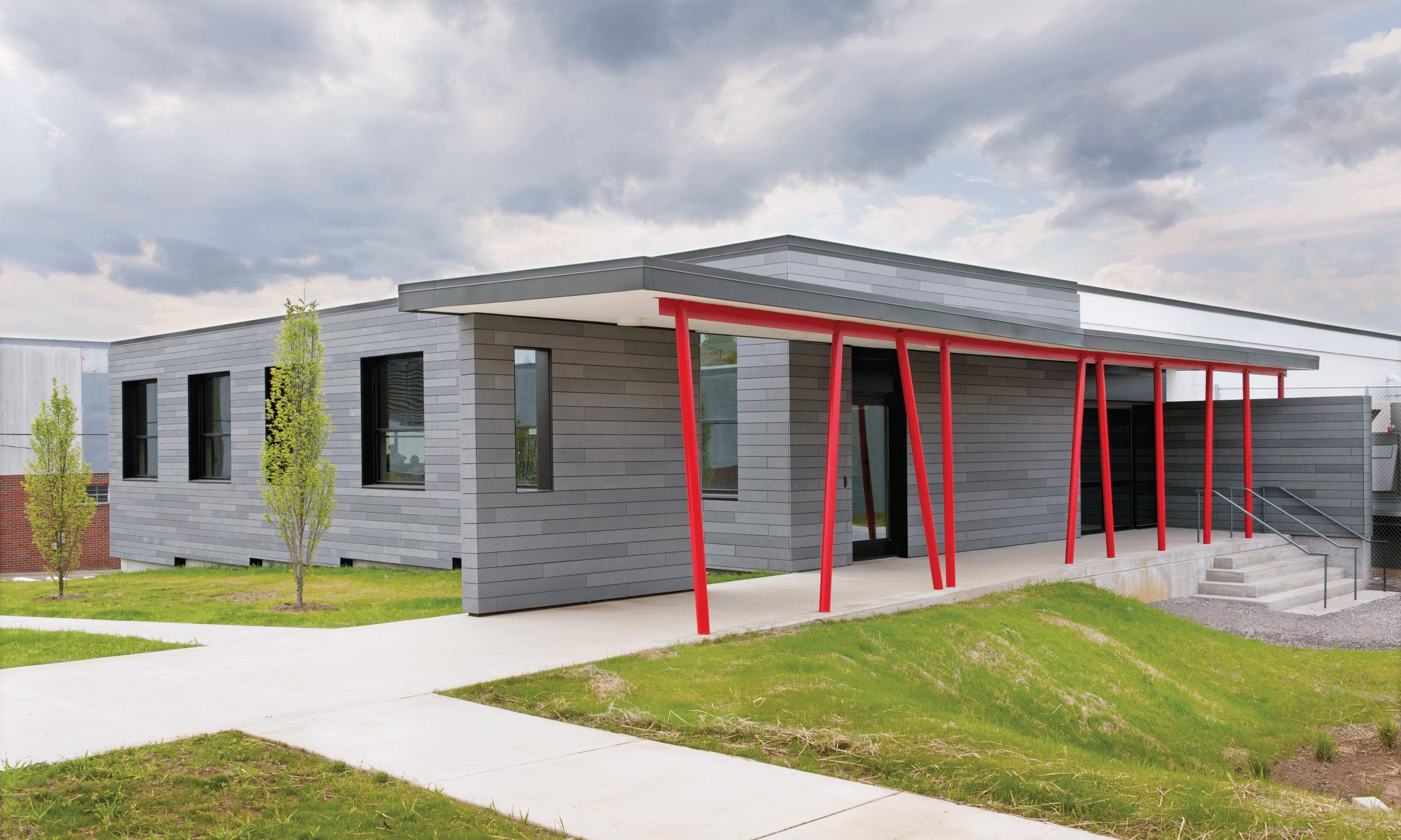 upper level entrance