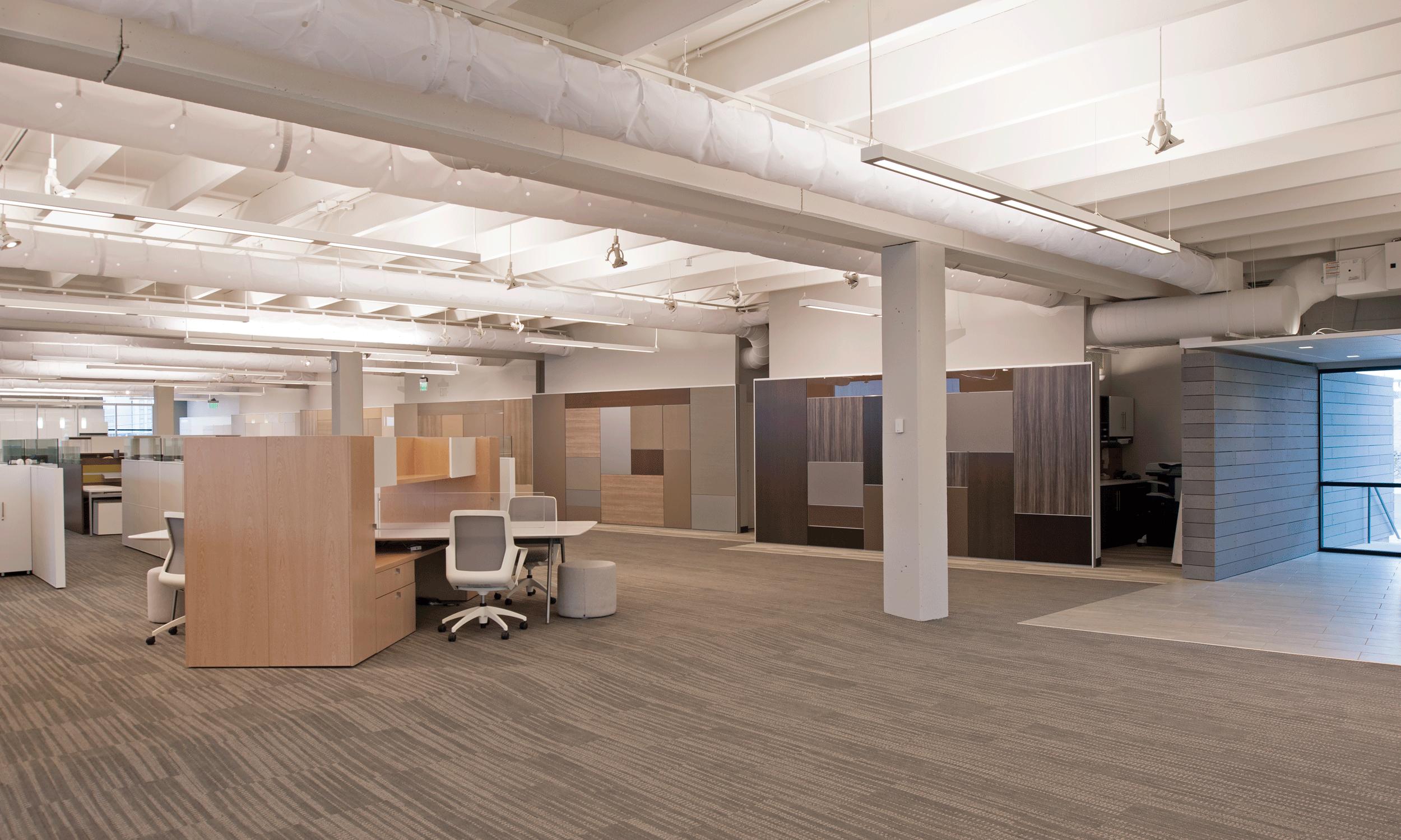 upper floor work space