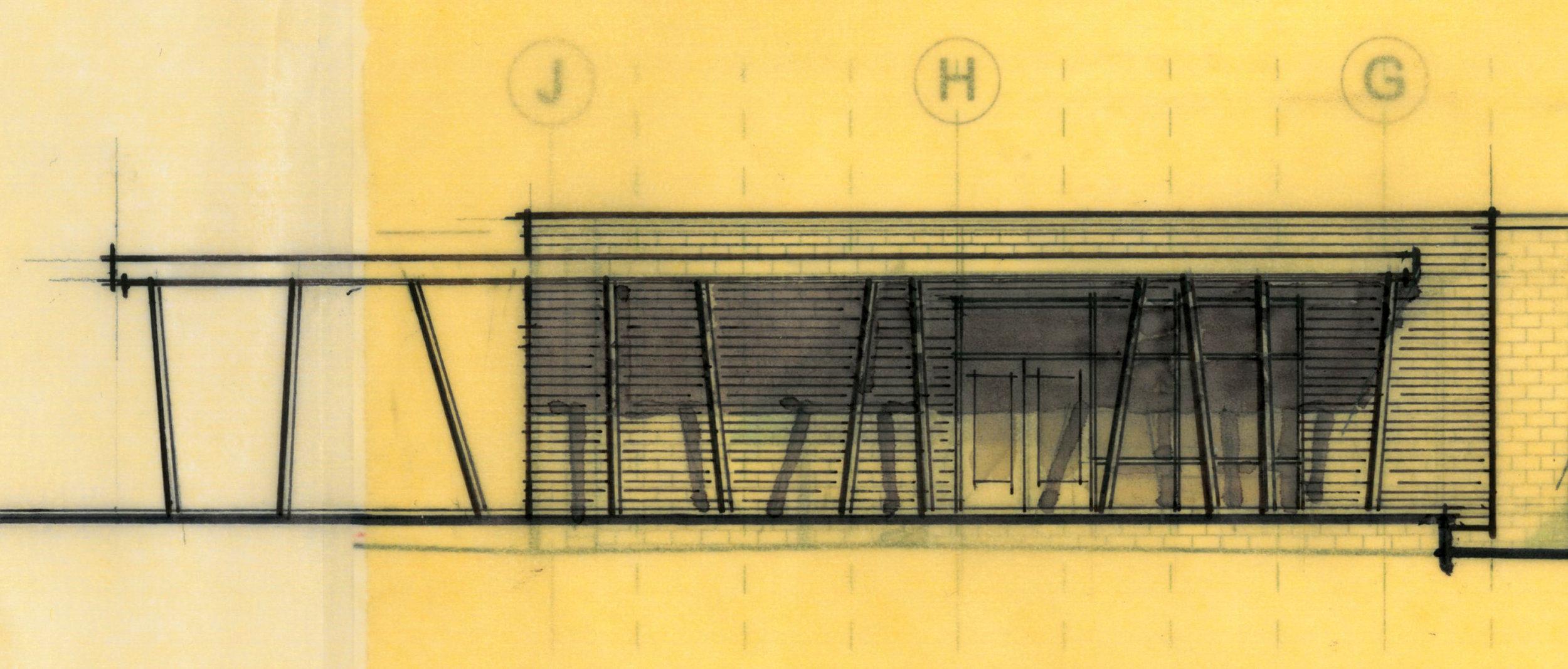 upper floor exterior sketch