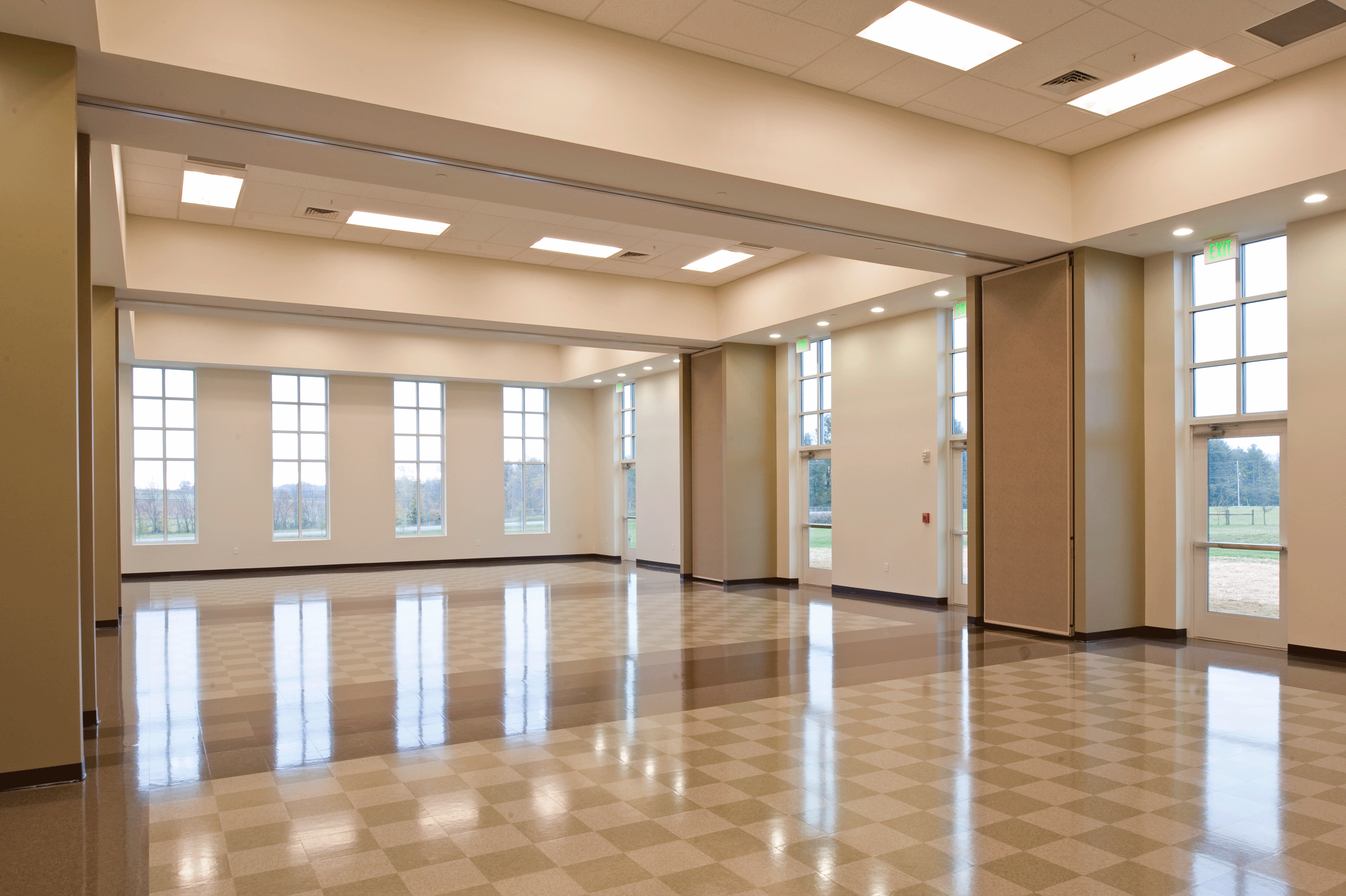 fellowship hall entrance