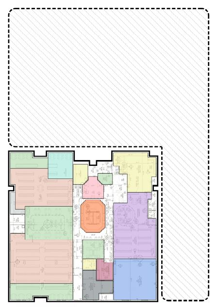 Library proposed floor plan