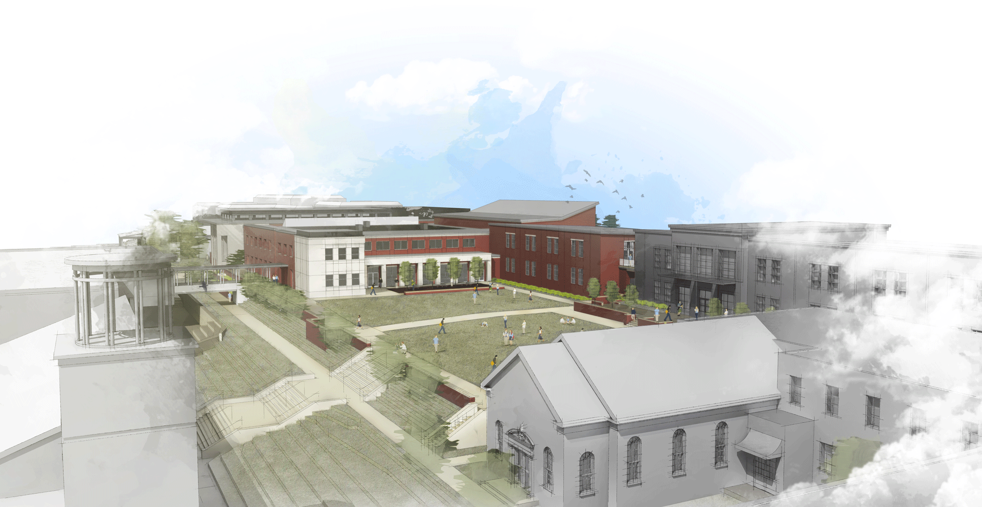 Franklin Road Academy Master Plan  Nashville, Tennessee