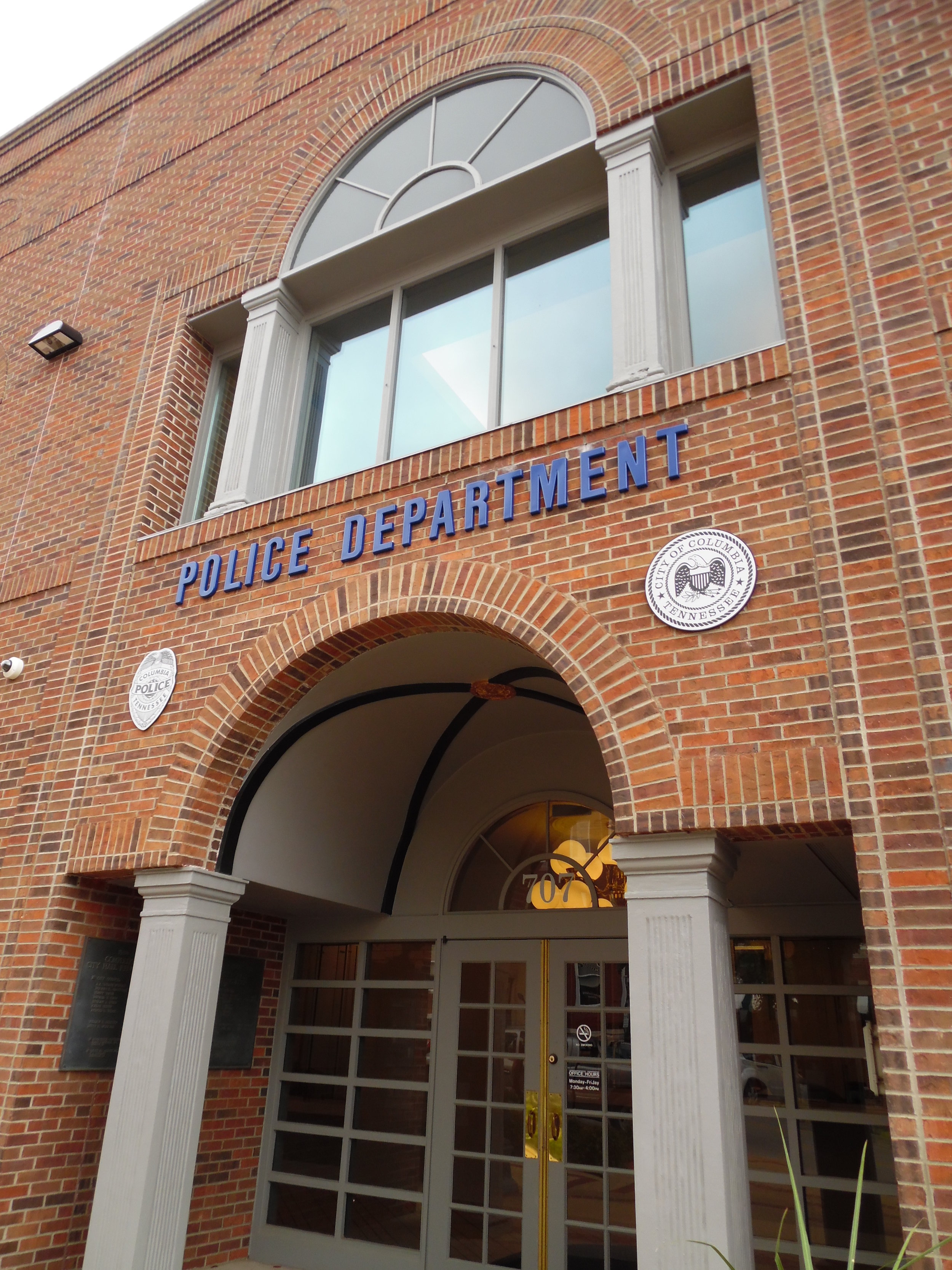 Columbia Police Department Interior Renovation  Columbia, Tennessee