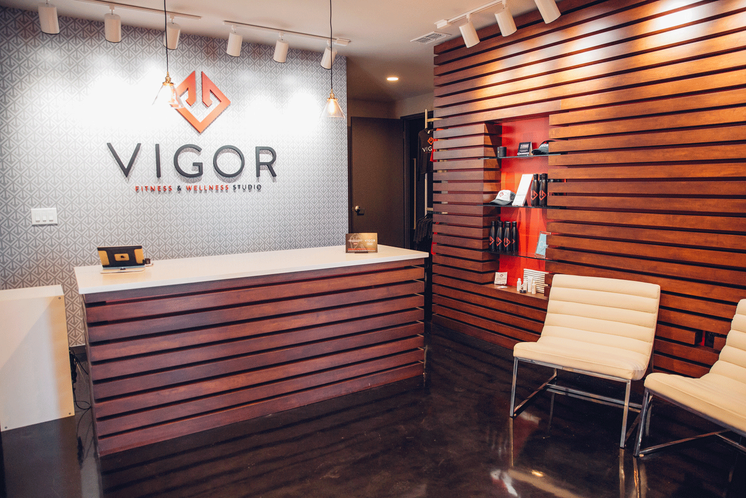 Vigor Boutique Fitness Studio Interior Build-Out  Nashville, Tennessee