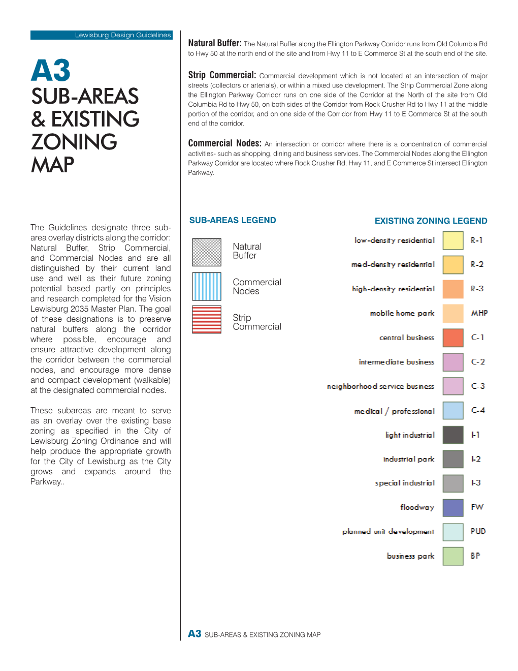 Sample page - Zoning Map 1