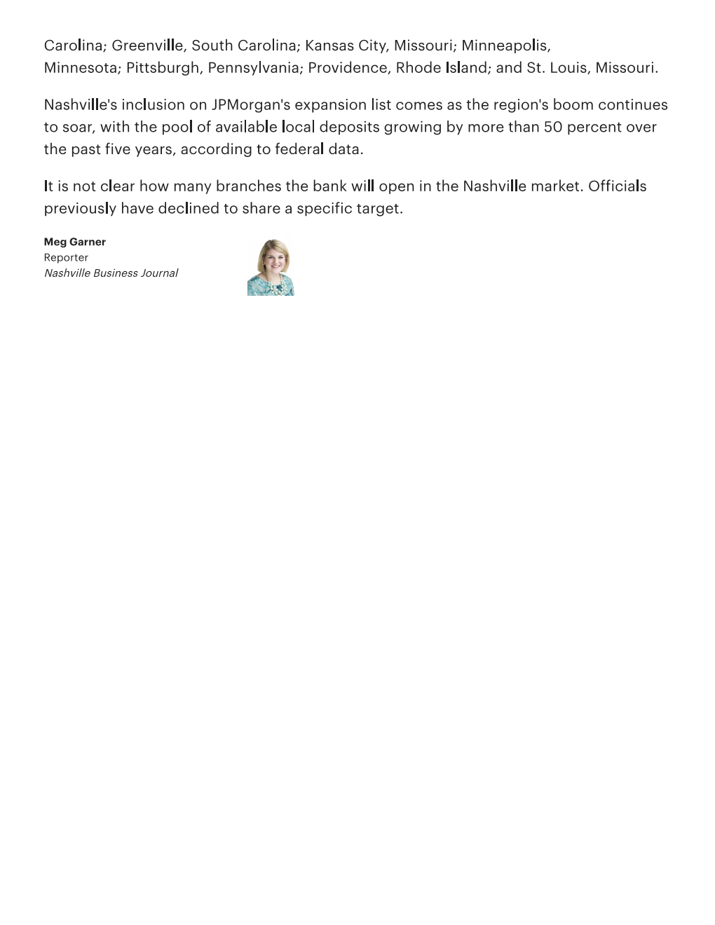 JPMorgan Chase selects Berry Hill for f...le branch - Nashville Business Journal Page 003.png