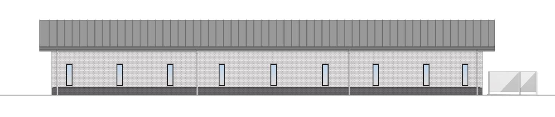 Brick Rear Elevation