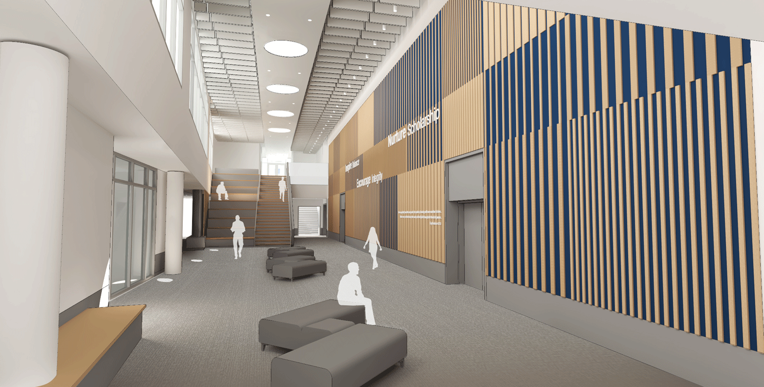 Inspiration Wall Rendering