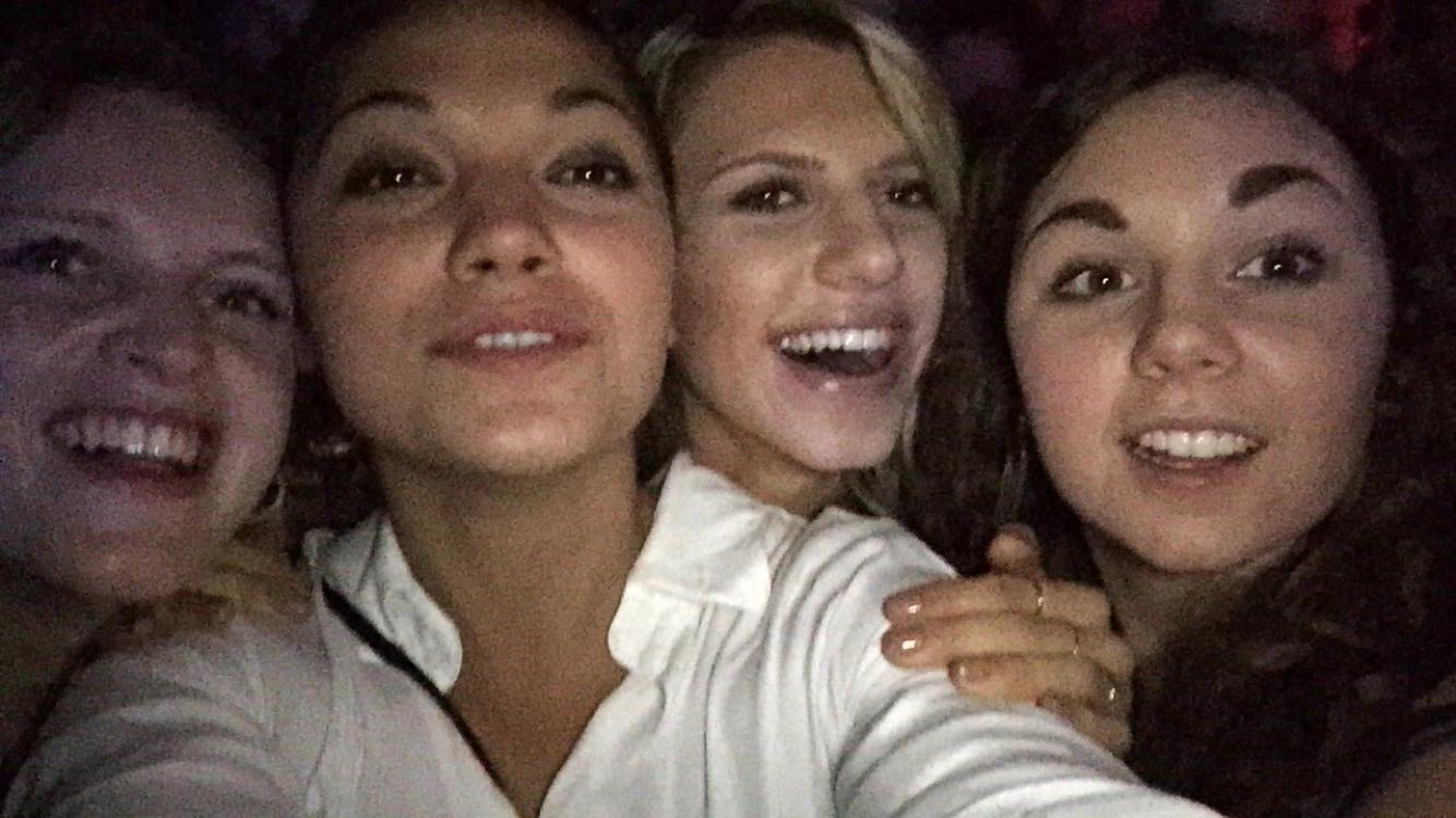 Thalia, jag, Clara och Lovisa