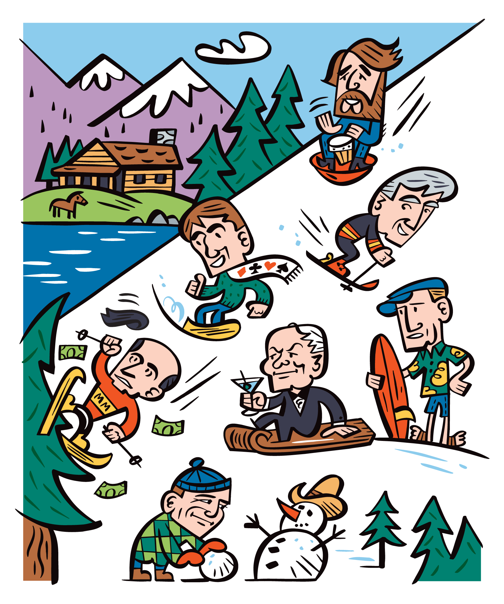 Tahoe's Rich and Famous: Worth Magazine