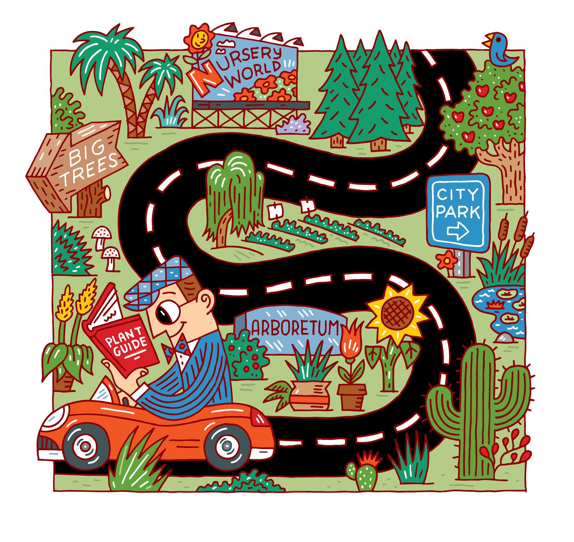 Garden Drive: For Sunset Magazine
