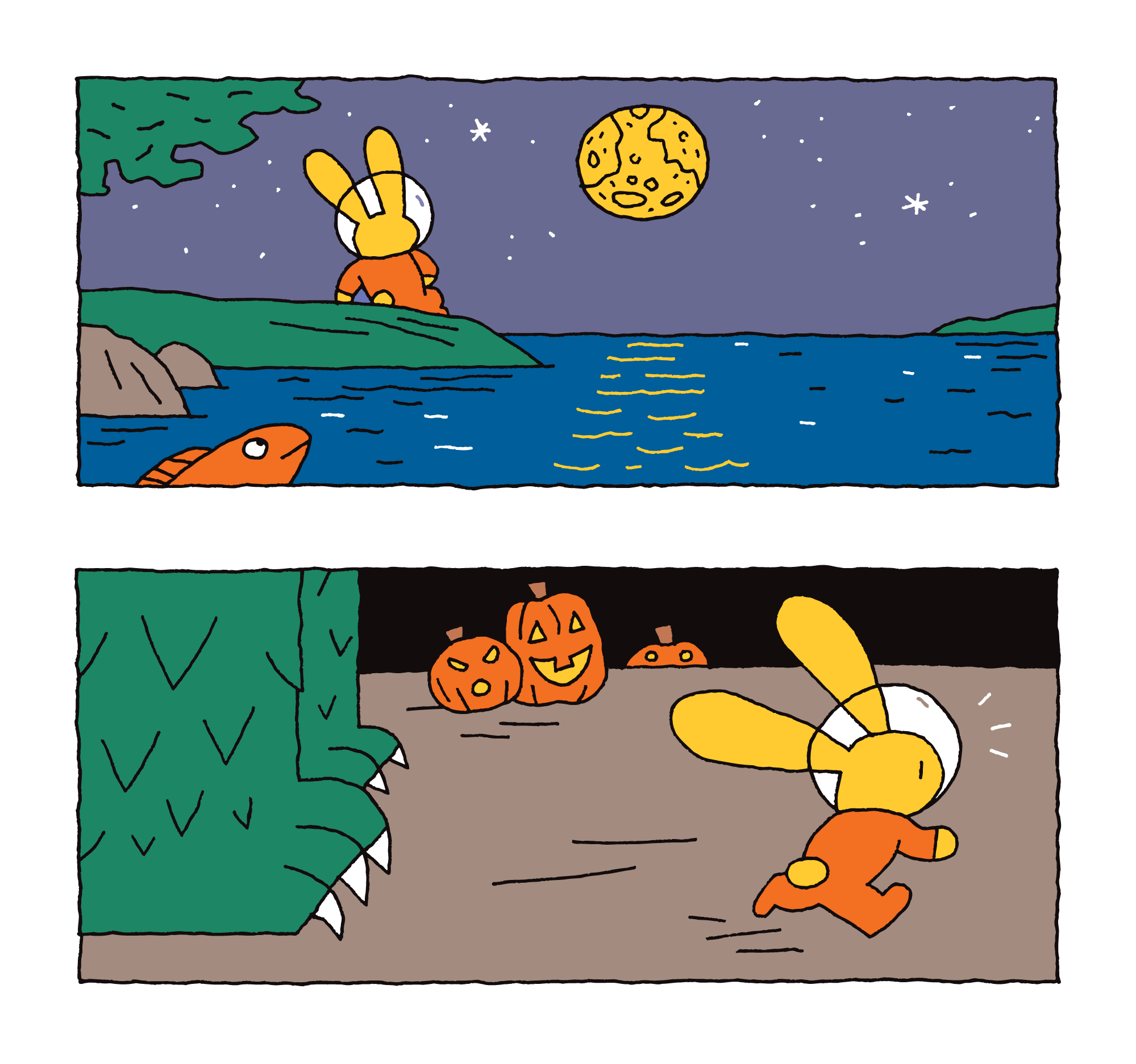 Moon Bunny's Trip in September and October