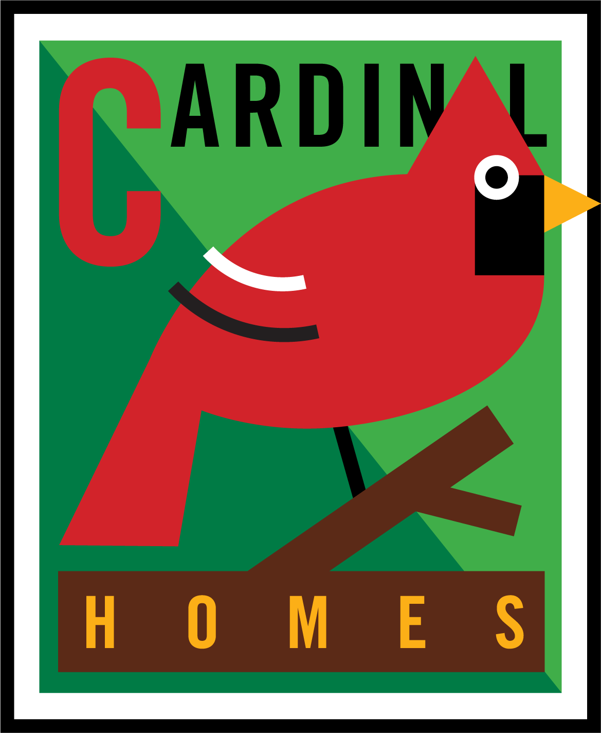 Logo Design, Cardinal Homes, Austin, Texas