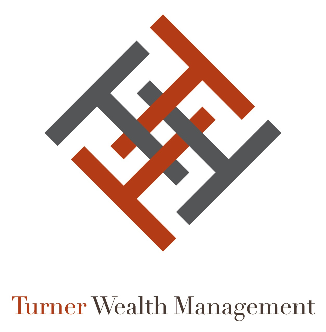 Logo Design, Turner Wealth Management, Austin, Texas