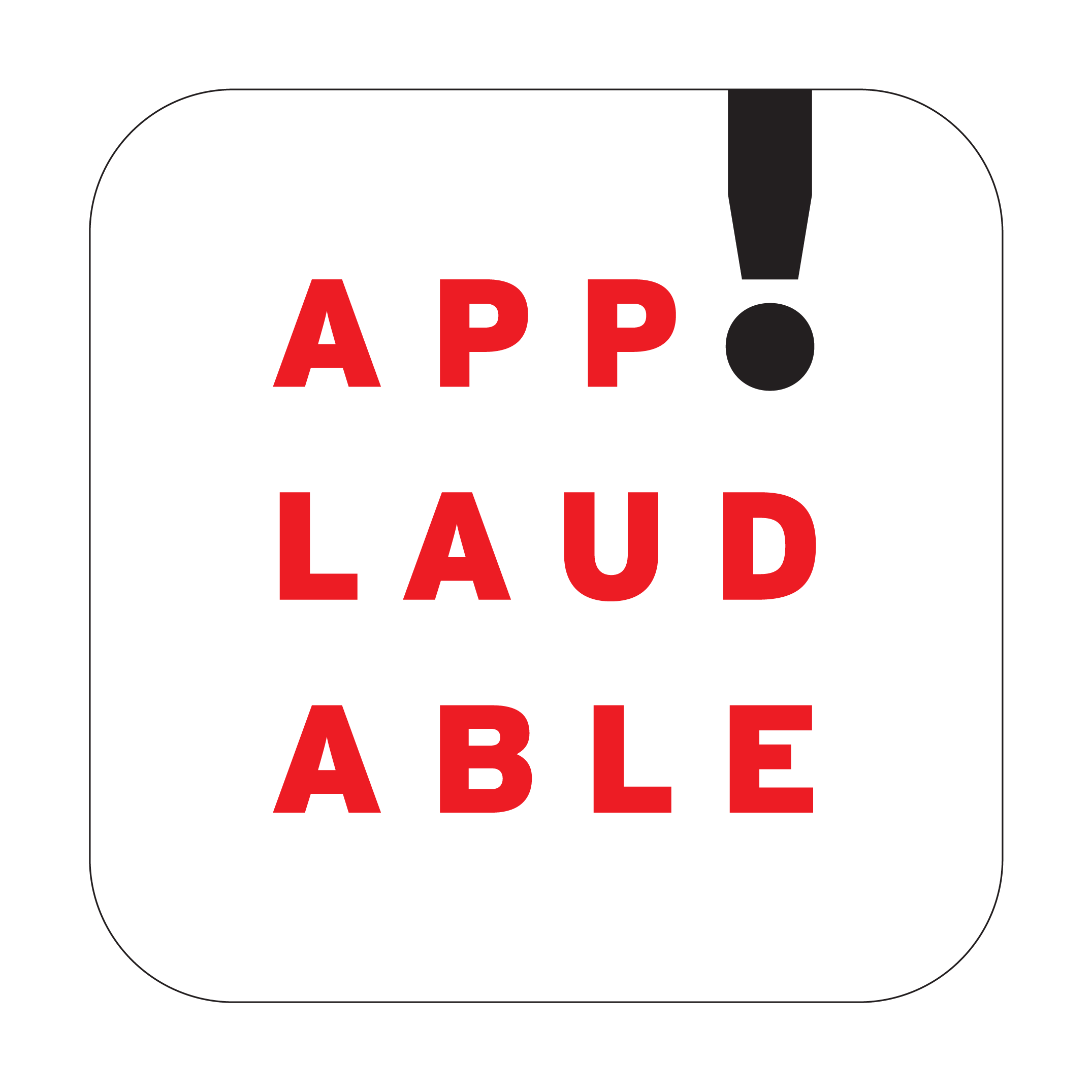 Logo Design, Applaudable App Publishing
