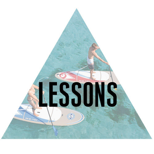 We offer introduction to Stand Up Paddleboard lessons