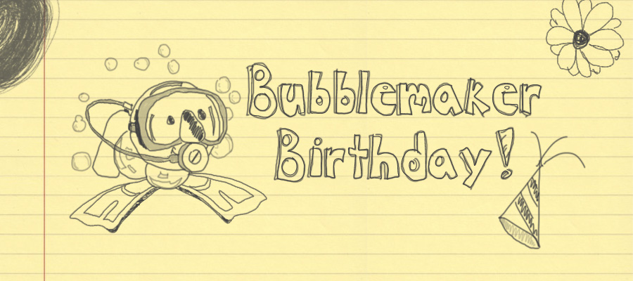 Bubblemaker Birthdays are a great party choice for kids 8 years and up!