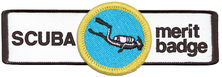 Boy Scouts can earn a SCUBA merit badge with UWC!
