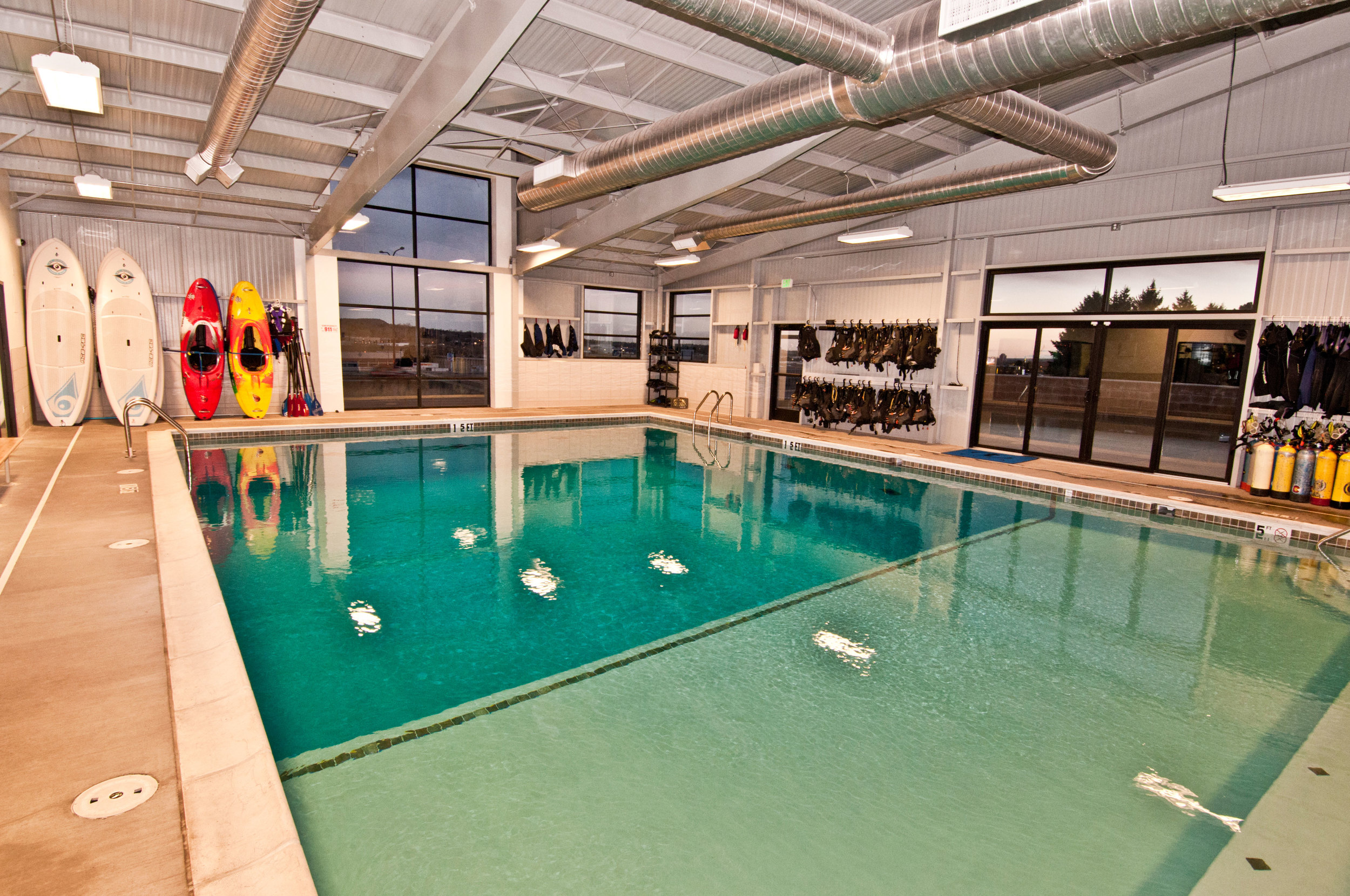 Our pool facility is maintained by a Certified Pool Operator and is kept at a warm 88 degrees F.