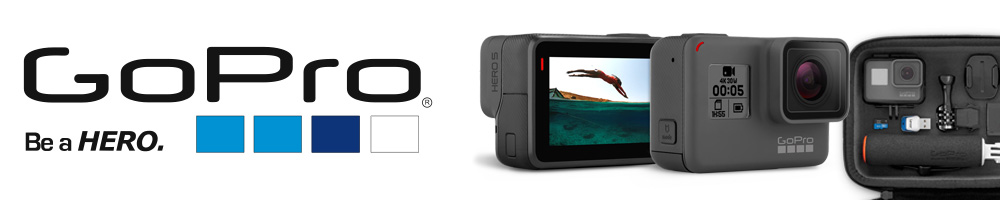 We carry GoPro products.