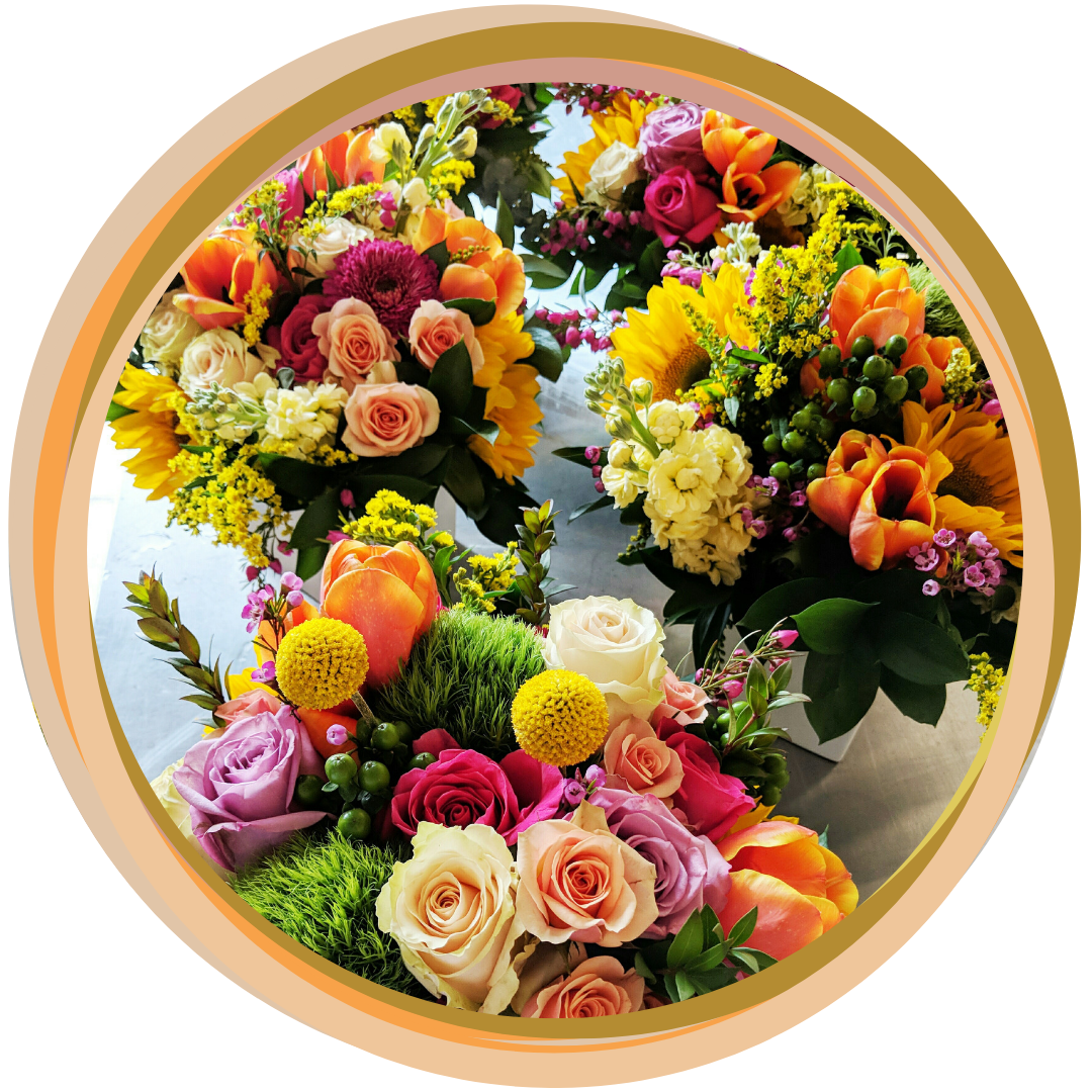 Fresh Flower Arrangements, hand delivered -