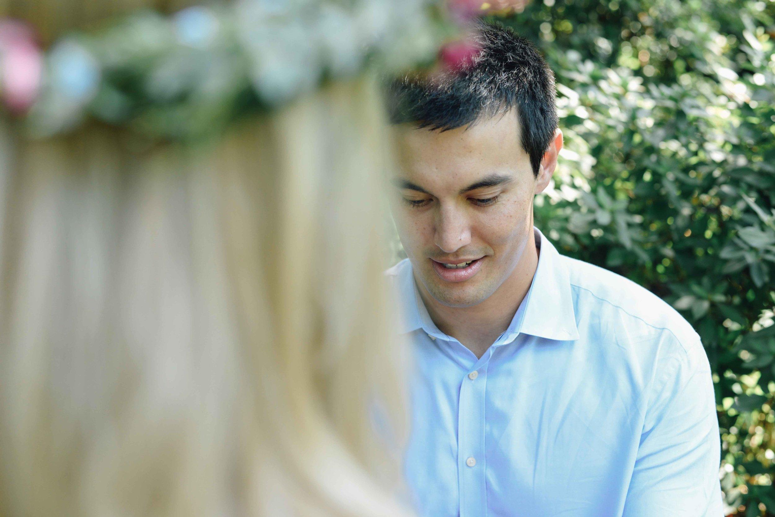 proposal in garden