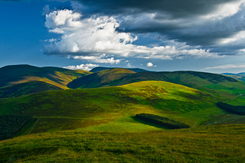 Hills of Southern Scotland