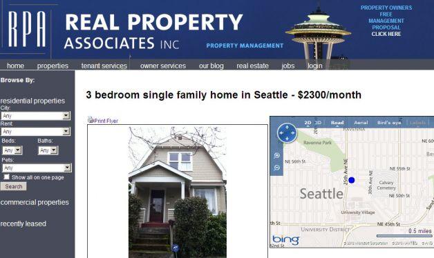 Image Courtesy of the Seattle Pi