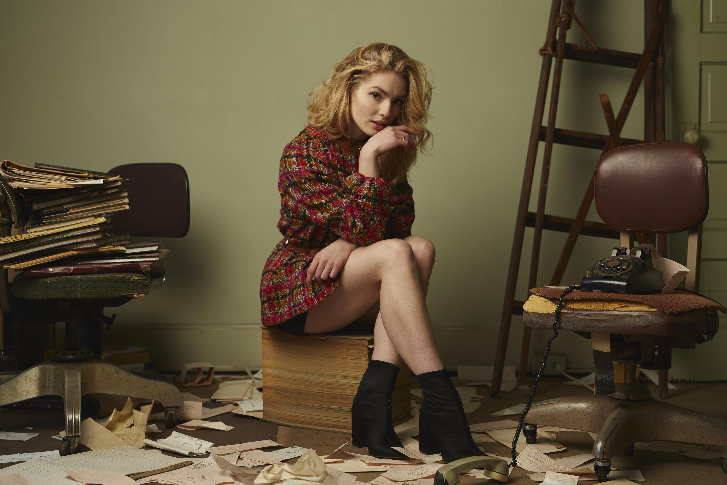 model: Martha Maruna