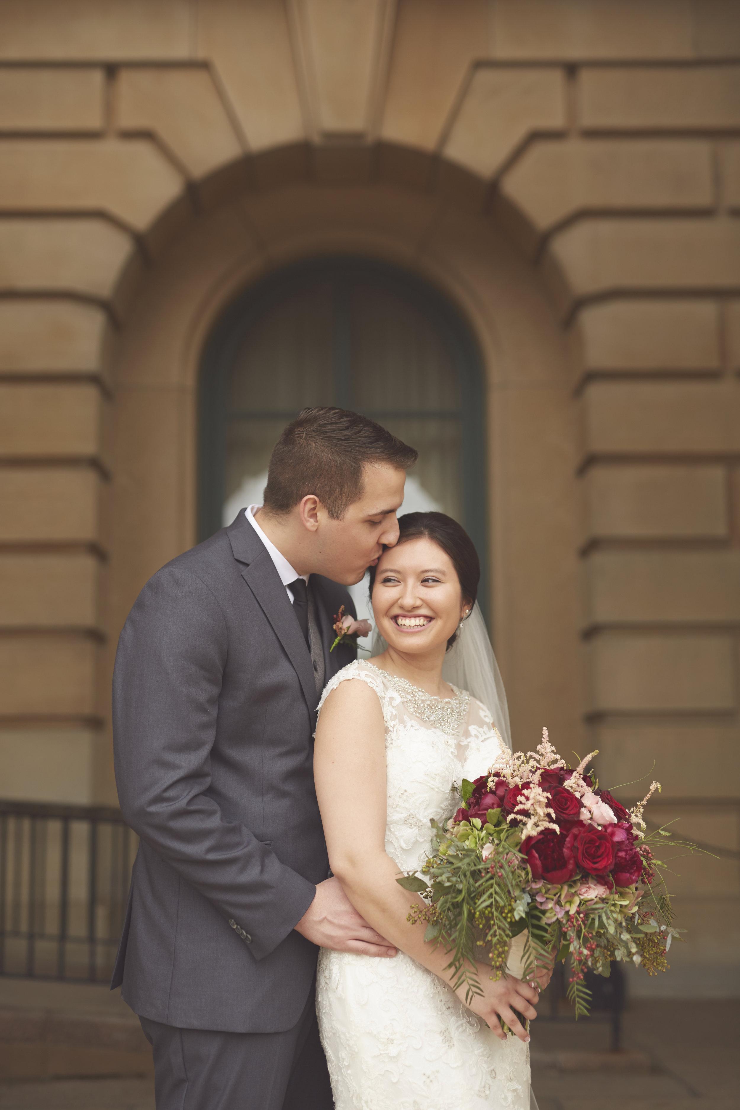 Illinois Wedding Portrait