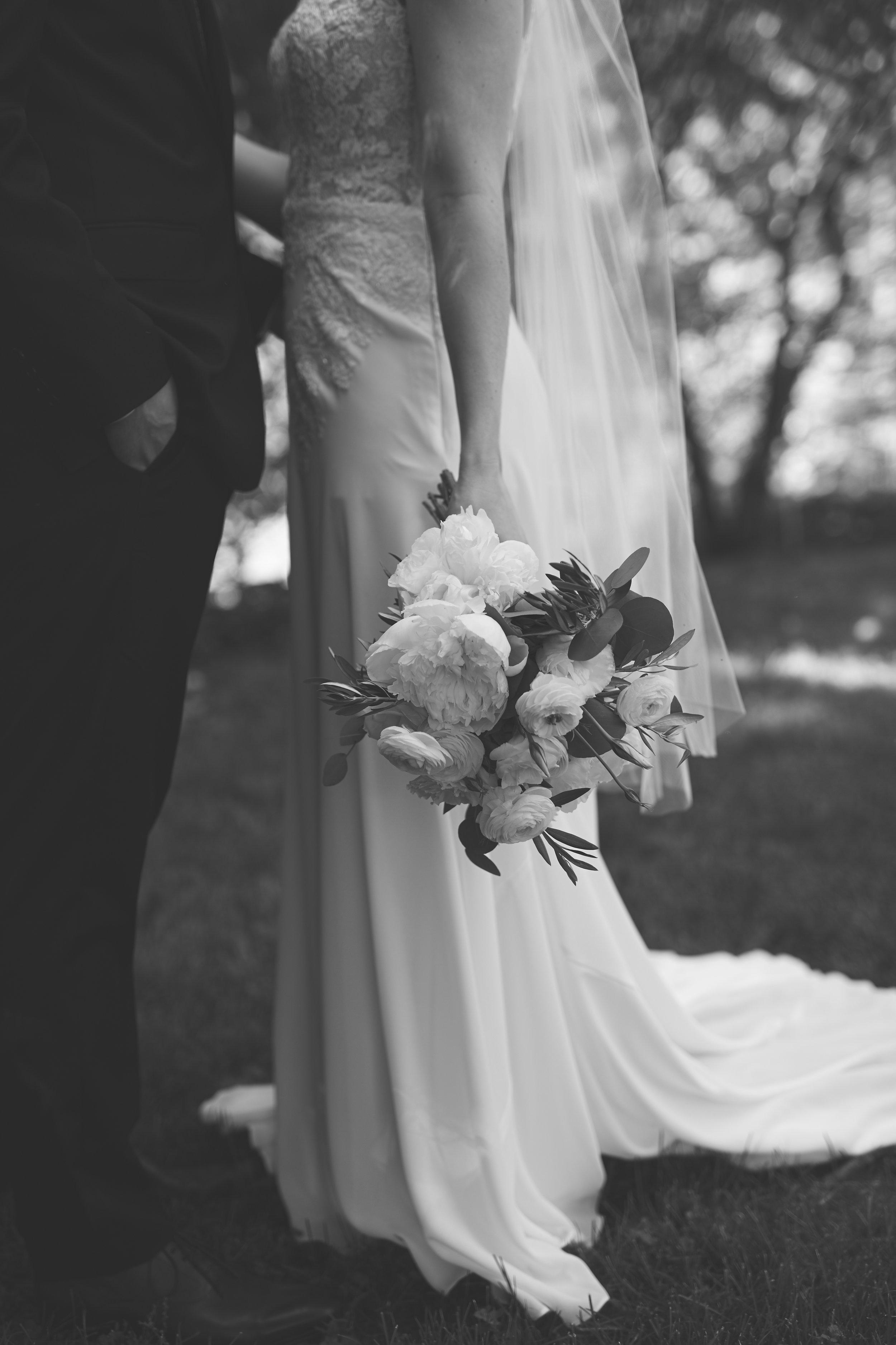 Romantic Black & White Couple