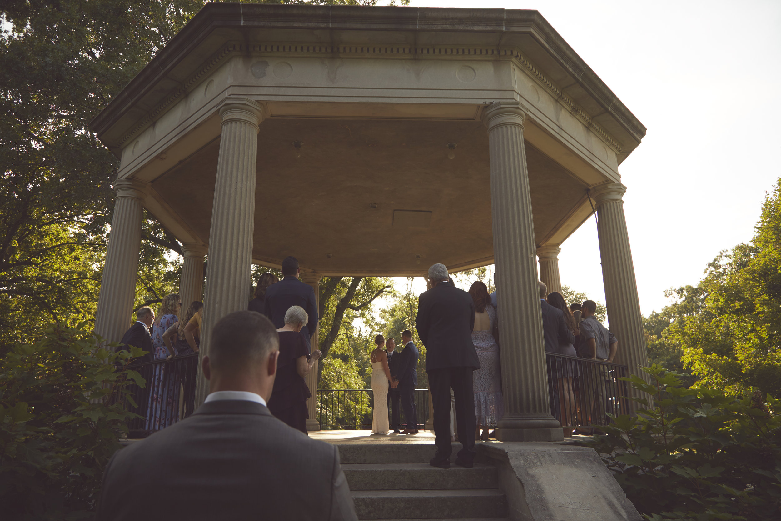 Small Illinois Wedding Ceremony