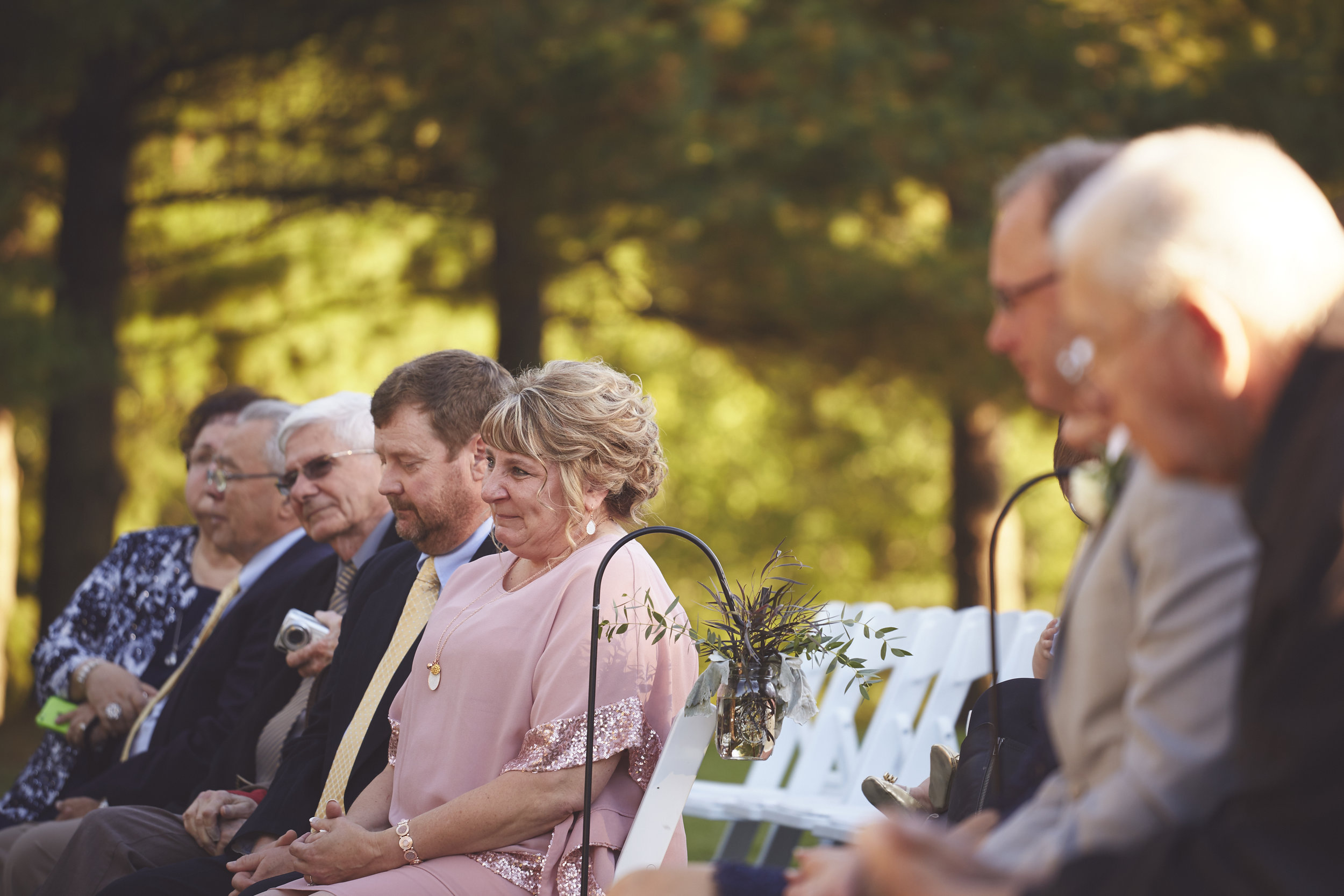 Family at Wedding Ceremony