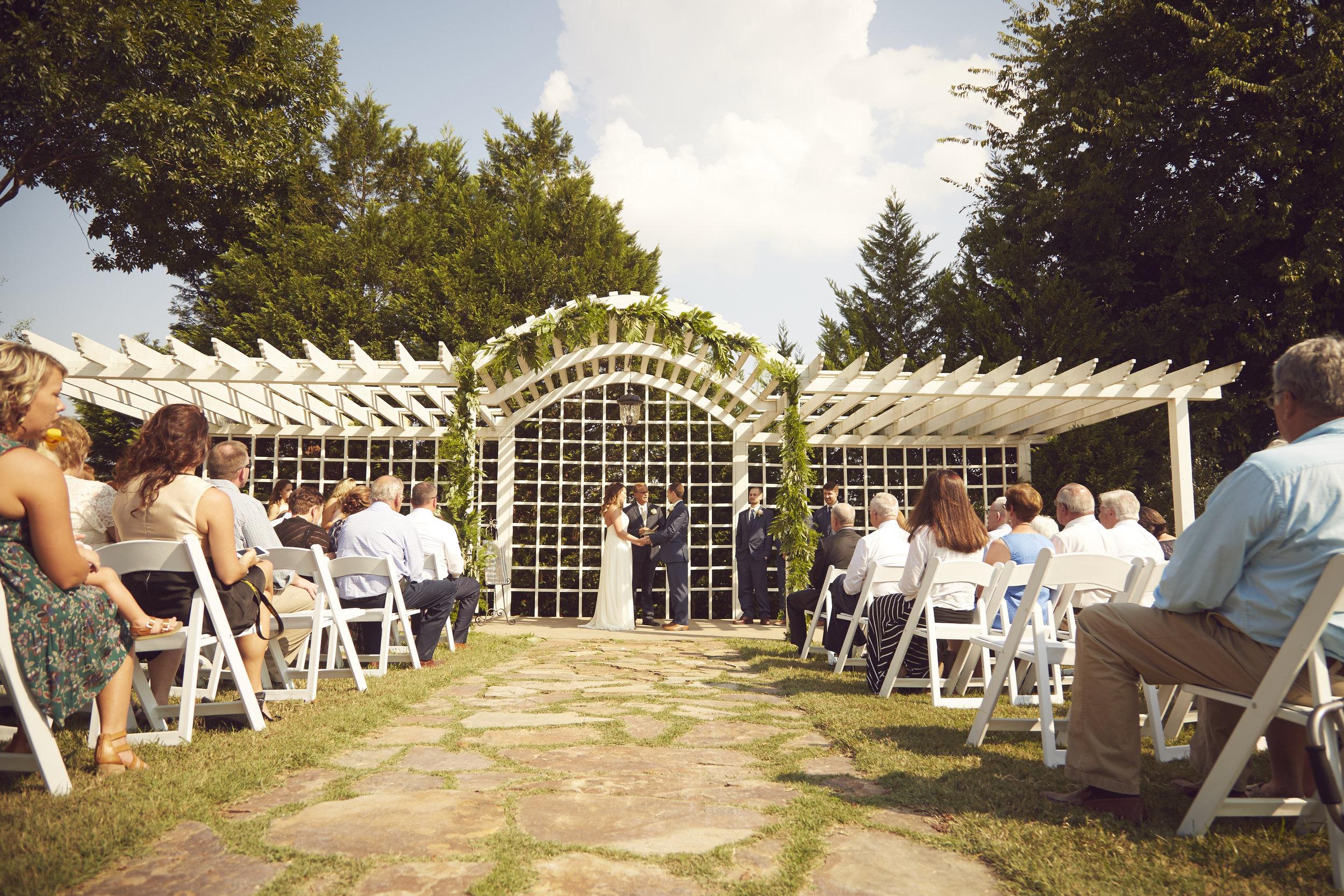 kentucky wedding ceremony