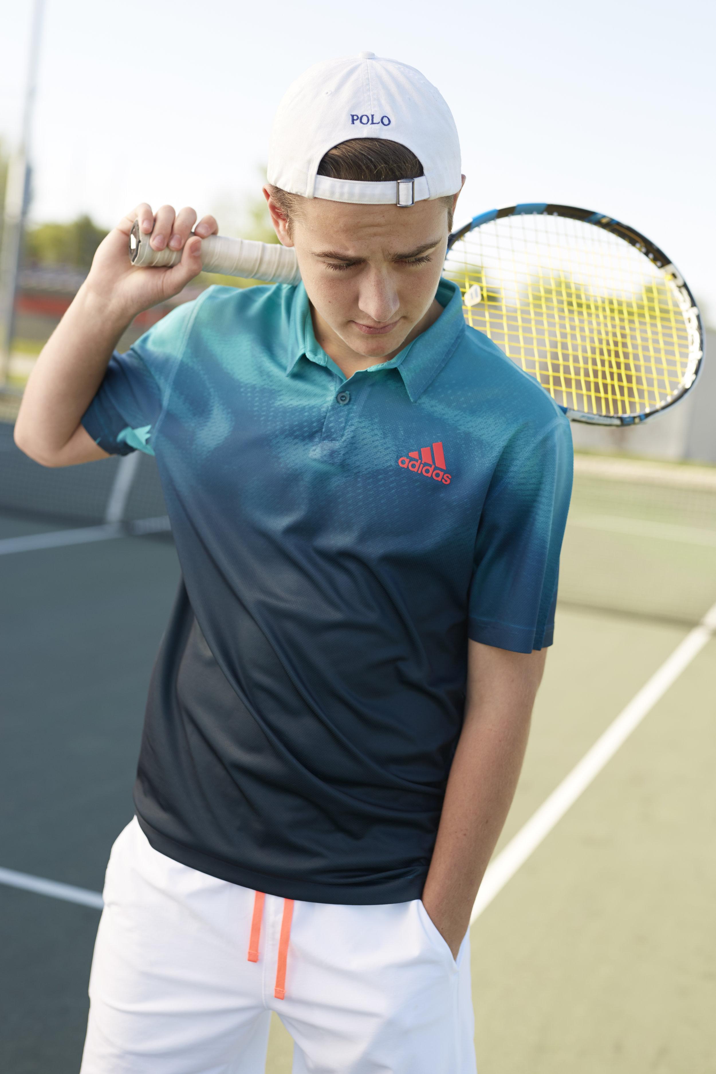 Rochester Illinois high school tennis portraits