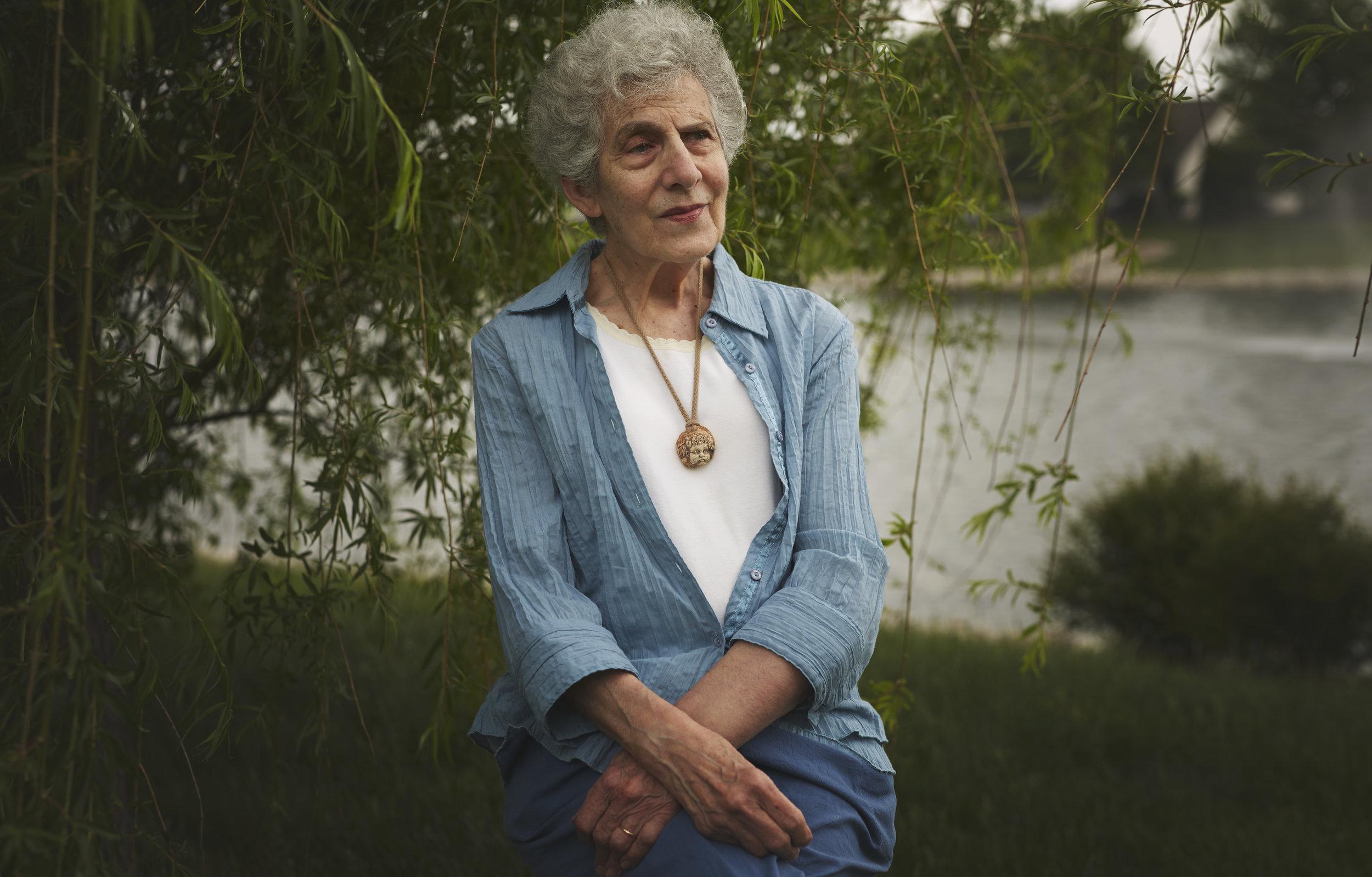 grandmother portrait by Illinois family photographer