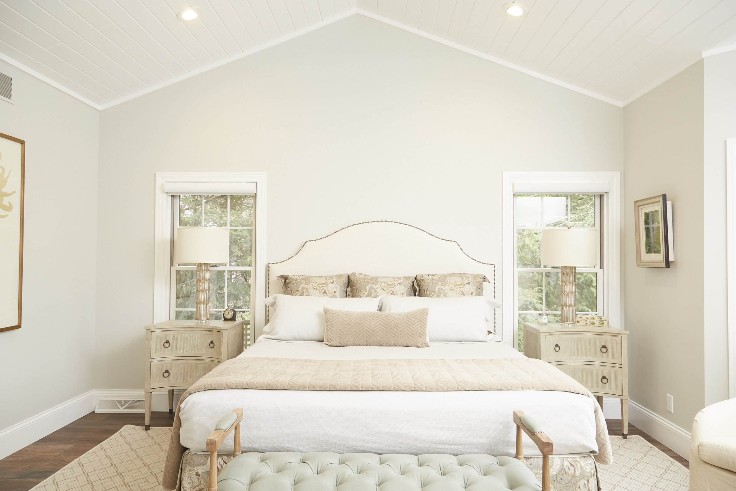 beautiful remodeled bedroom construction