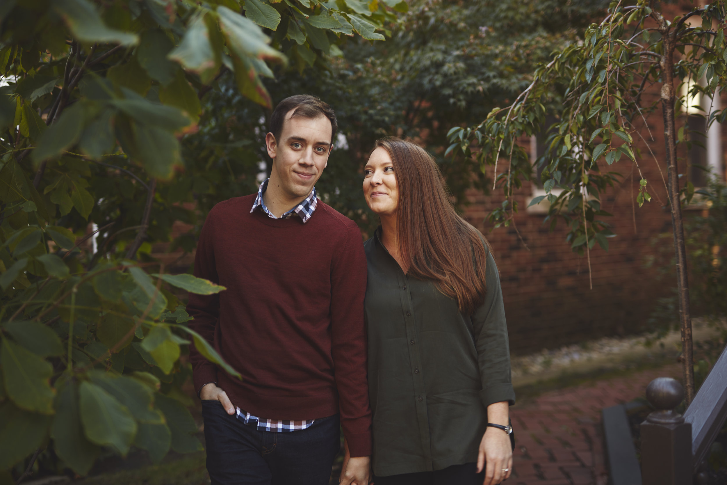 Springfield IL engagement photography