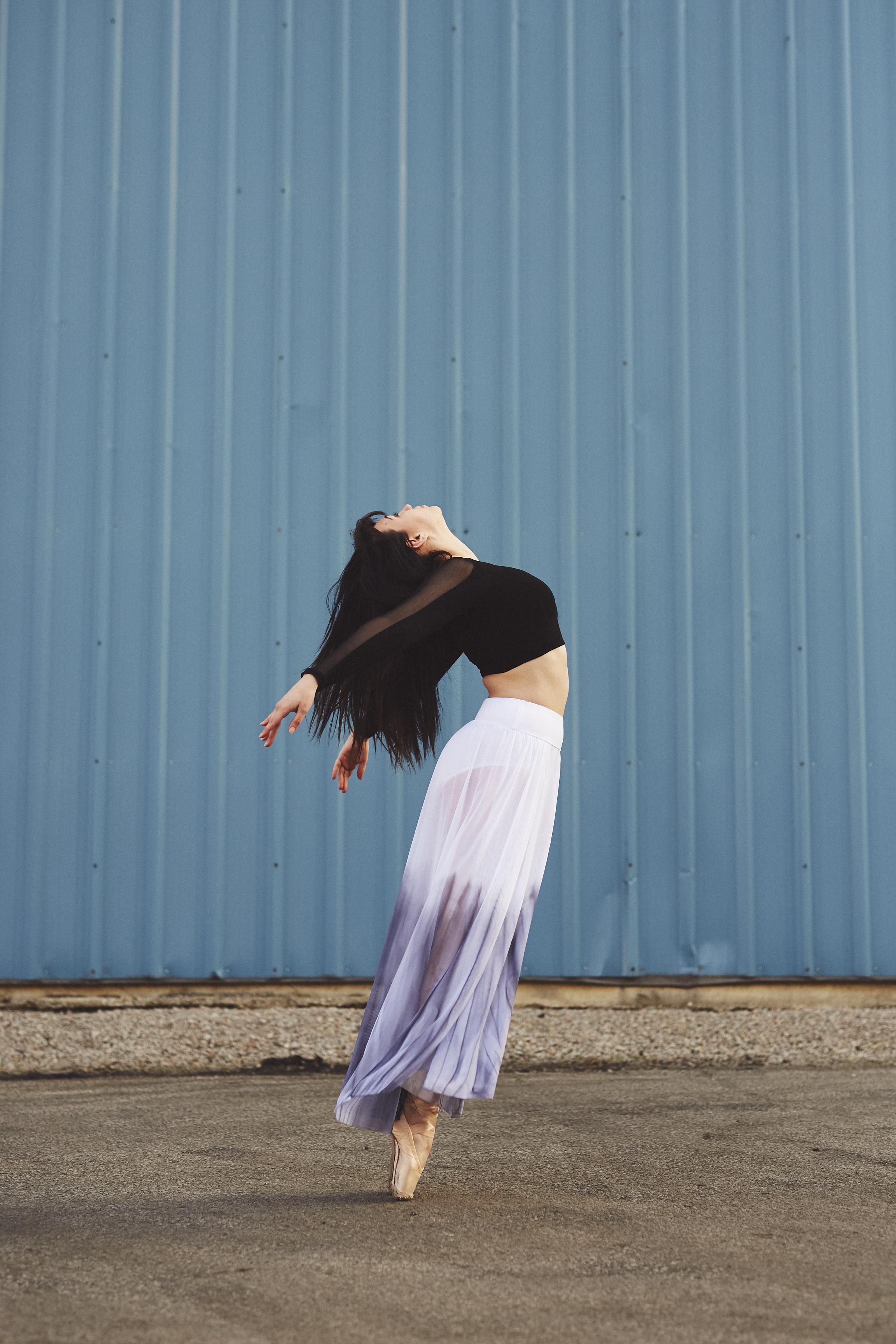 Brunette Ballet Dancer