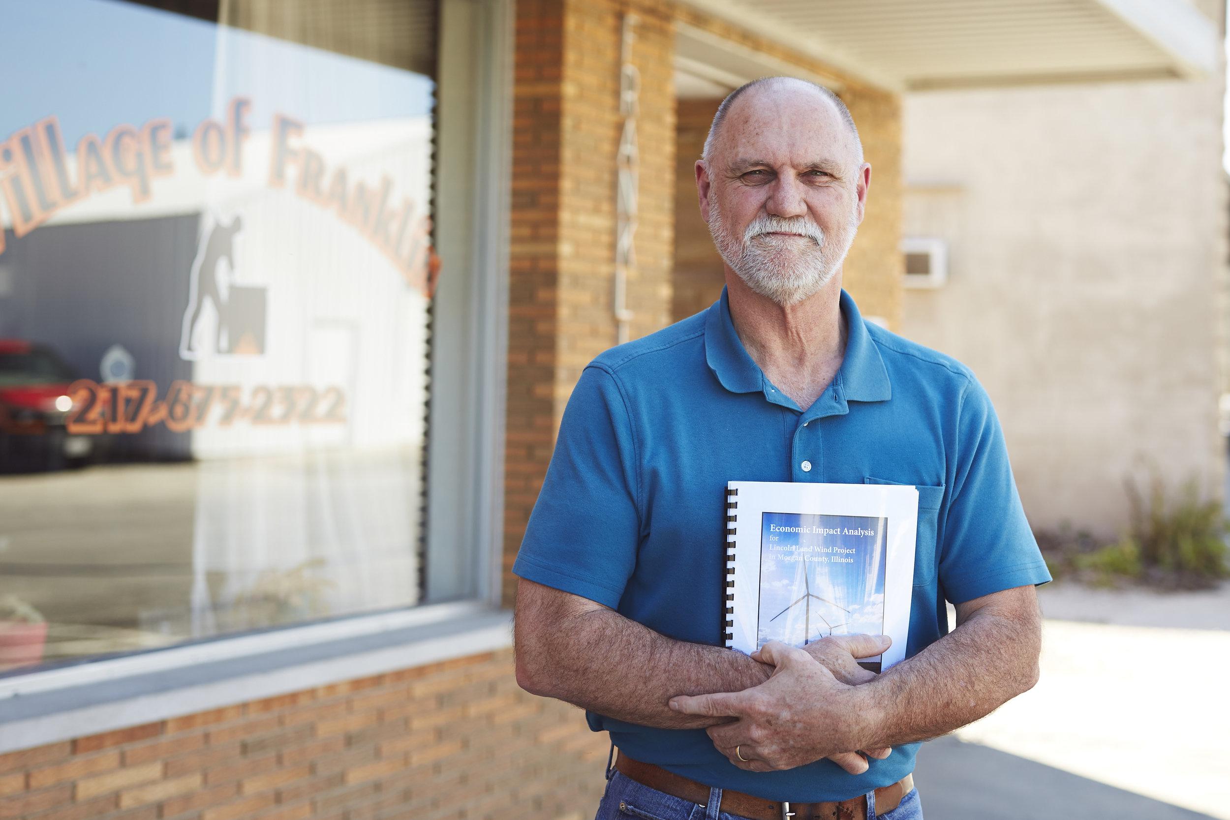 Franklin Illinois Mayor Portrait