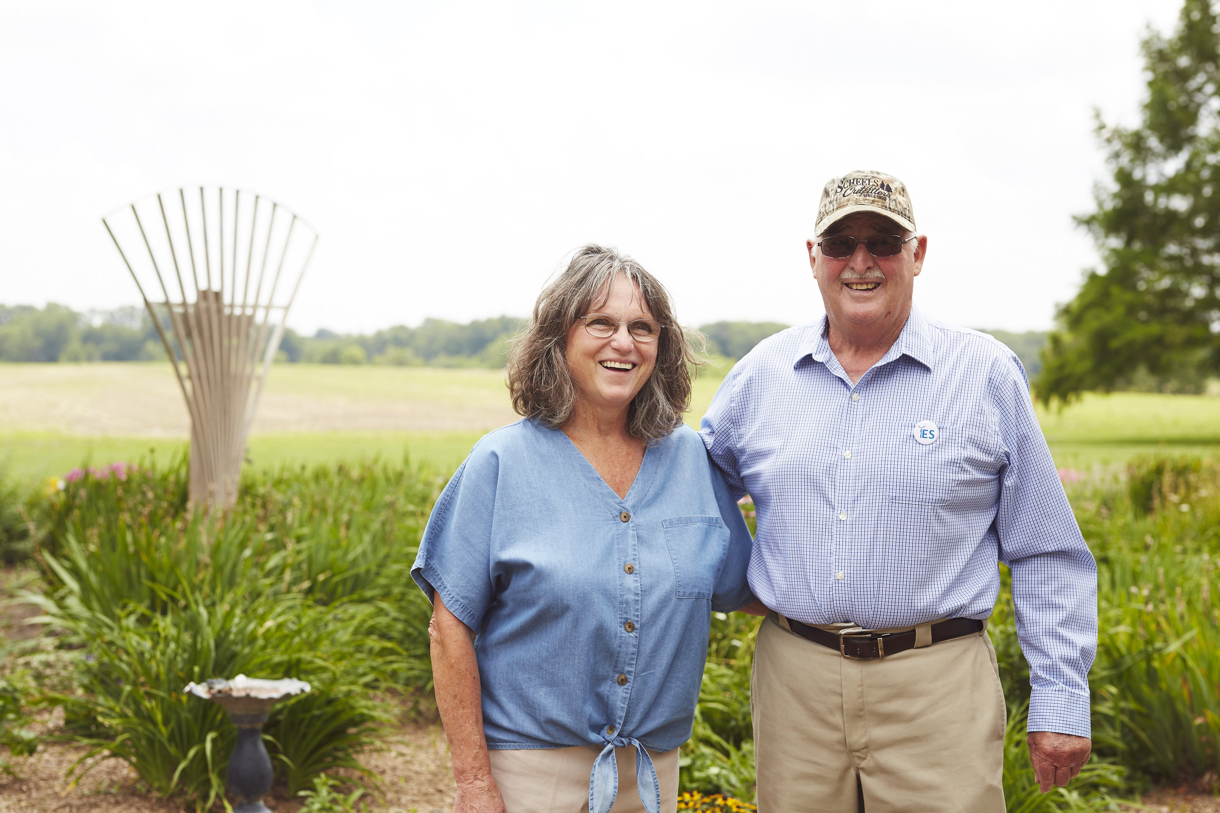Portrait of Professionals on Farm