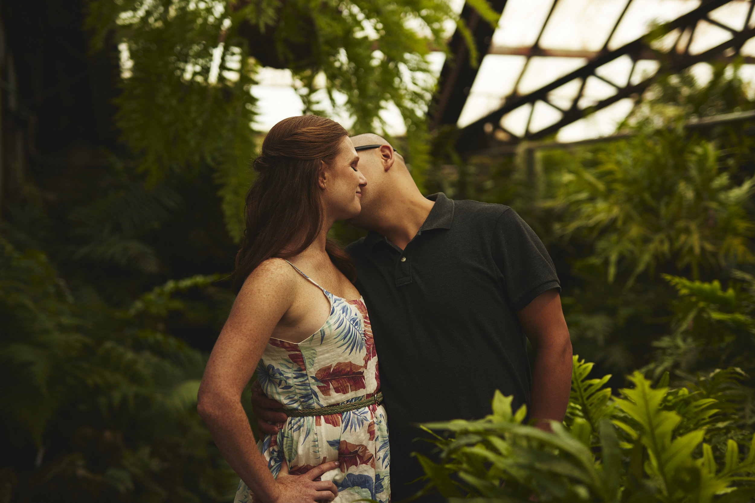 Chicago Conservatory Engagement Session