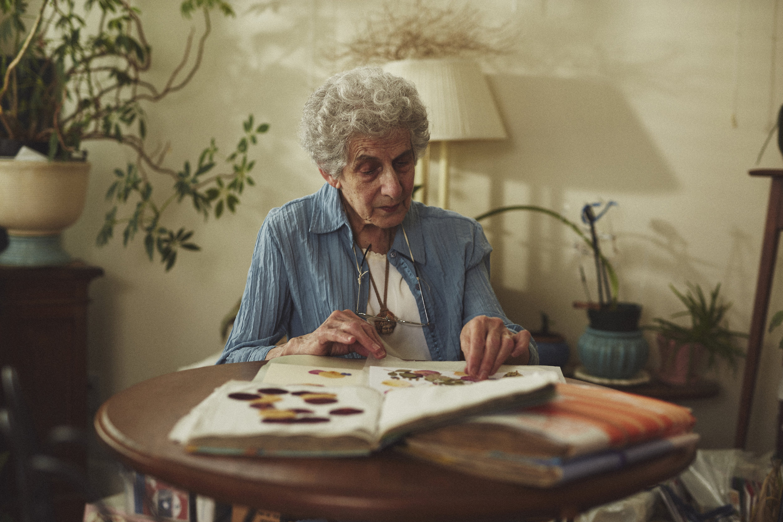 Beautiful Grandmother in Home Portrait