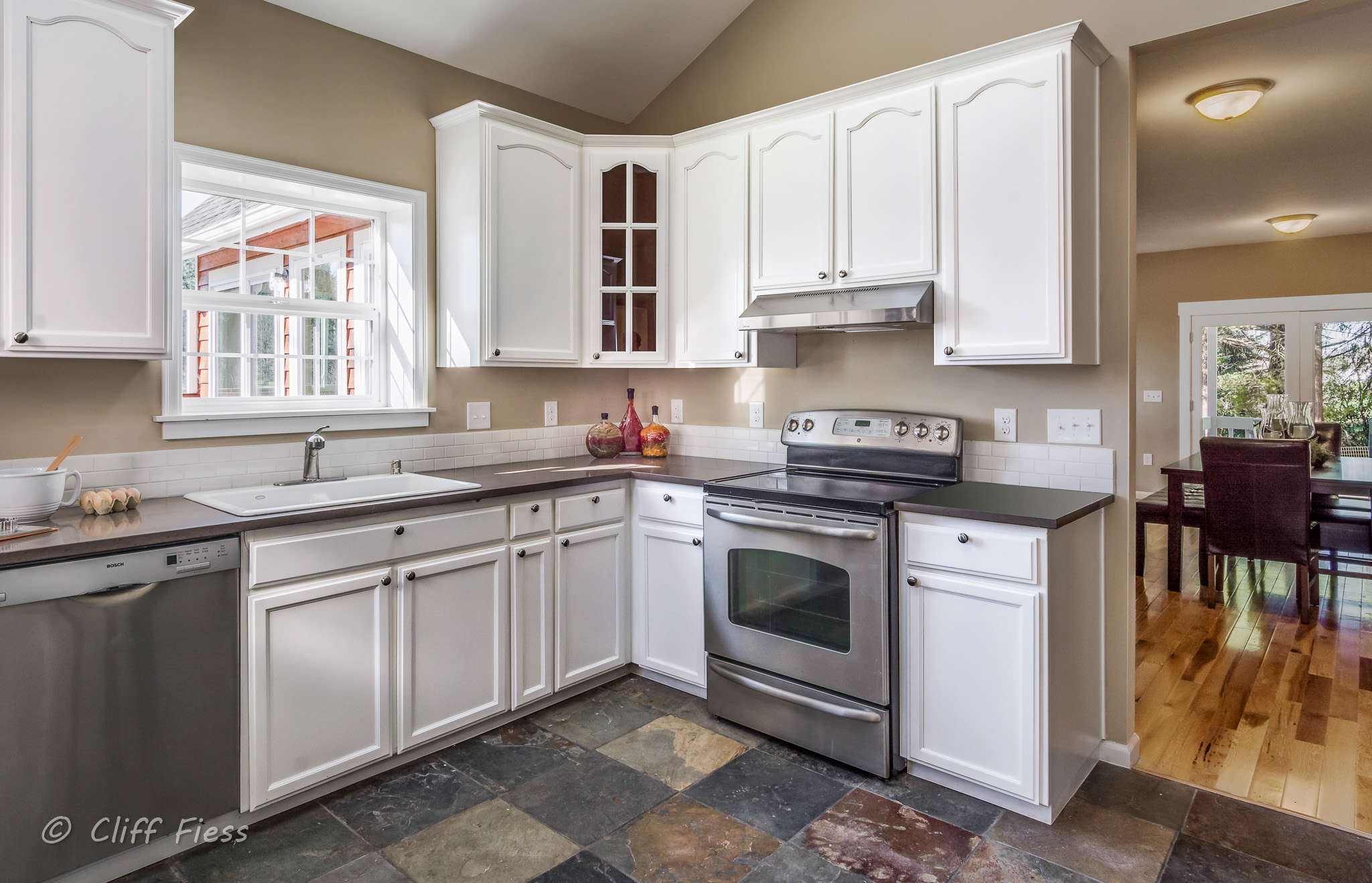 Kitchen of a Keyport Residence