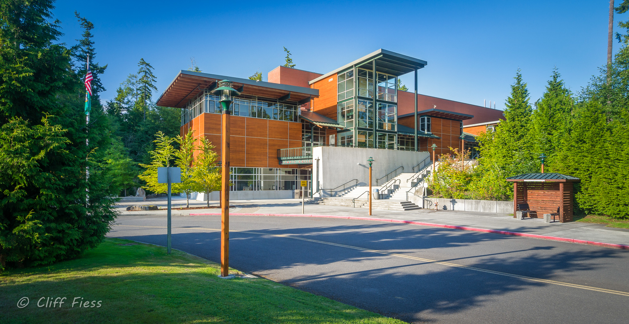 Olympic College at Poulsbo WA