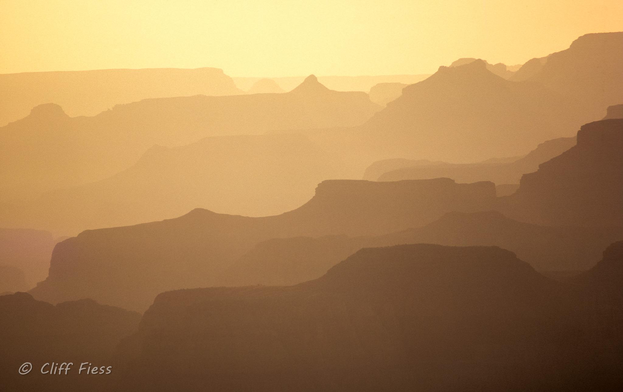 Grand Canyon at Dusk